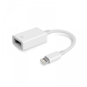 MOBILNET DAD-0098-OTG-LIGHT BIELY OTG LIGHTNING ADAPTER. KABEL